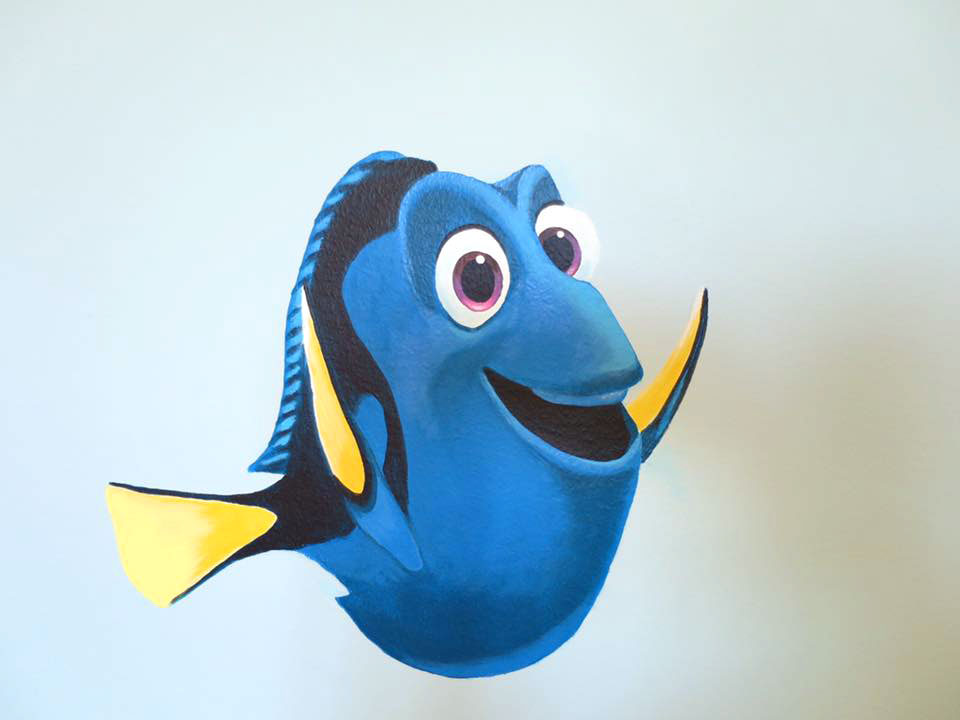 Väggmotiv, Doris från Hitta Nemo